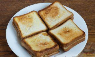 Сэндвичи с шампиньонами и сыром