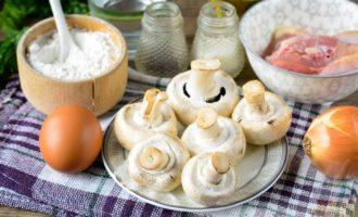 Пельмени с куриным фаршем и грибами