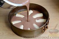 Муссовый шоколадный торт с бананами (без выпечки)