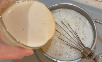 Ангельский десерт с инжиром