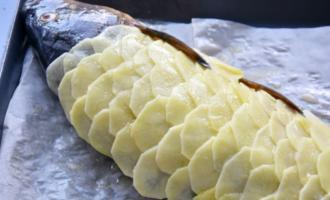 Карп в картофельной чешуе